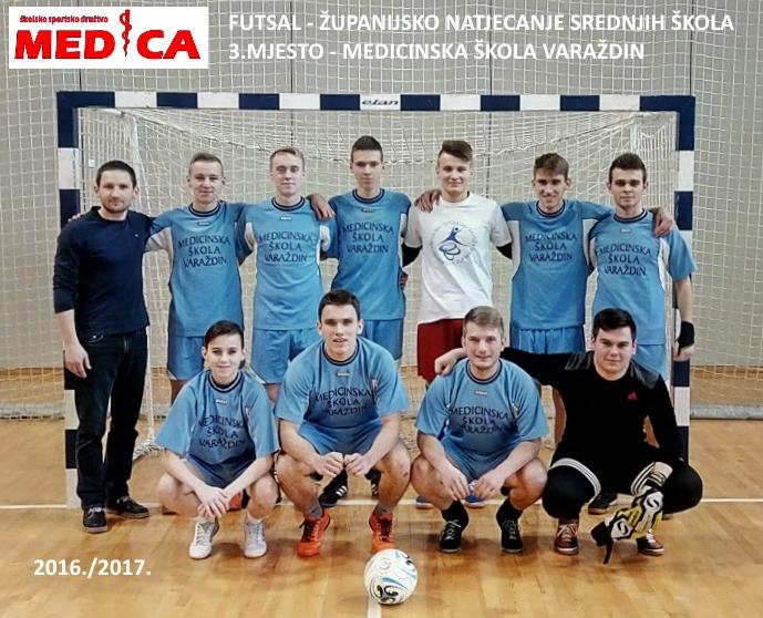 Futsal ekipa 2017